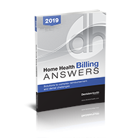 Home Health Billing Answers, 2019