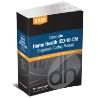 Home Health ICD-10-CM Diagnosis Coding Manual, 2020