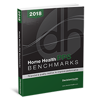 Home Health PPS Benchmarks, 2018