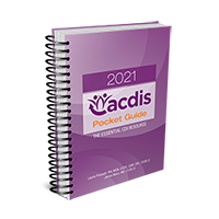 2021 ACDIS Pocket Guide