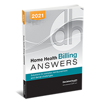 Home Health Billing Answers, 2021